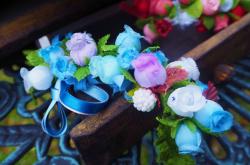 村娘の花飾り ジゼル