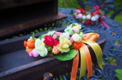 村娘の花飾り 「コッぺリア」よりスワニルダ
