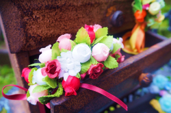 村娘の花飾り 「ジゼル」よりペザント
